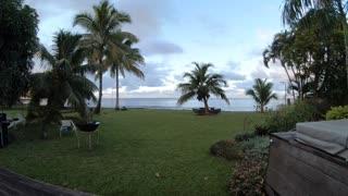 Tahiti sunrise timelapse