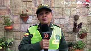 Mensaje de los policías en Bucaramanga