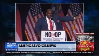 NC Lt. Gov. Robinson Gives Stirring Speech: Americans 'Run Toward Trouble'