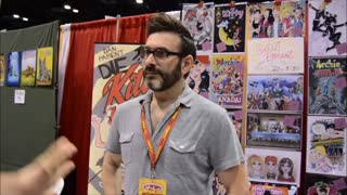 60 second video clip of an interview we did with comic book artist/writer Dan Parent