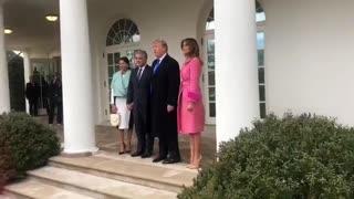 Iván Duque y Donald Trump se reúnen en la Casa Blanca