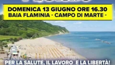 """PROMO per il """"NO PAURA DAY 2"""", a Pesaro il 13/6/2021"""