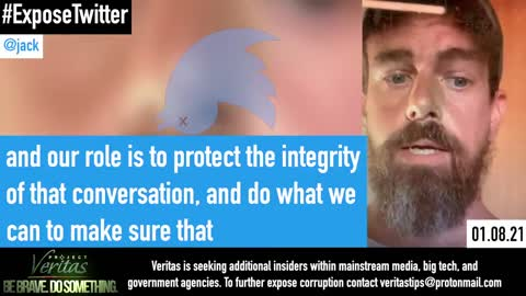 JUST IN - Twitter CEO recorded by an insider, detailing the agenda for further political censorship