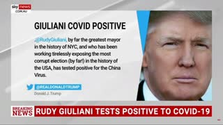 Rudy Giuliani TESTS POSITIVE for COVID 19! TRUMP WILL KEEP MOVING FORWARD!