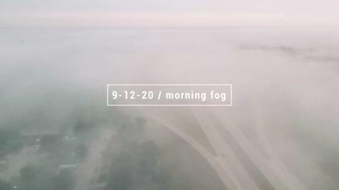Foggy Morning in Yukon Oklahoma