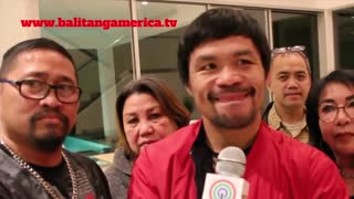 Manny Pacquiao speaks out on burglary