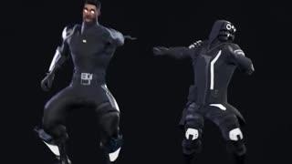 Fortnite dance art