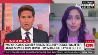 Marjorie Taylor Green Confronts Ocasio-Cortez