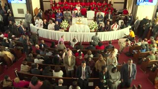 Selma church-goers turn their backs on Bloomberg