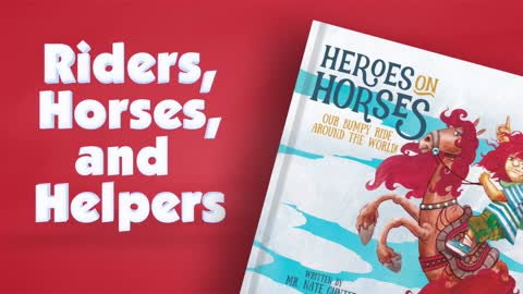 #5 Children's Book -- Heroes on Horses - A Equestrian Therapy Children's Book