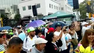 Realizan plantón para exigir protección del agua en Santander