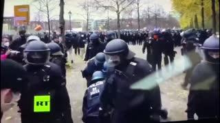 Polizeigewalt Berlin 18.11.2020