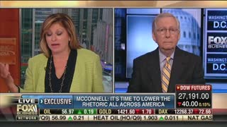 McConnell reacts to Trump rally