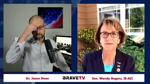 """Sen. Wendy Rogers: """"Decertify This Election!"""" - Interview on BraveTV 8-26-2021"""