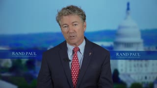 Rand Paul Destroys the 'Official' Narratives, Big Tech Doesn't Want You To See This