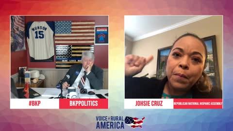 Johsie Cruz talks Cuba and the political rally in Georgia