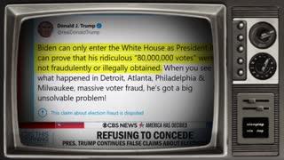 Trump demands Biden prove he won election