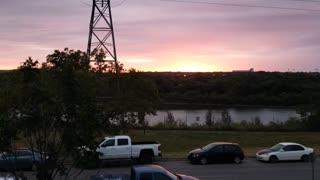 Sunset in Saskatoon