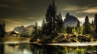 Relax Library: Video 18. Alpine Forest River. Relaxing videos and sounds