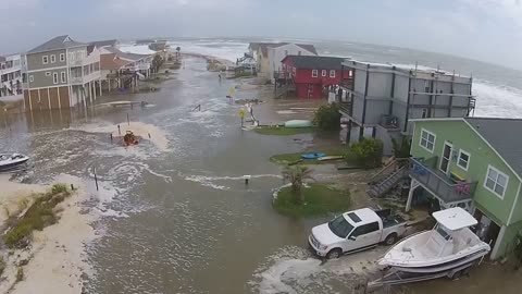 Drone footage captures Hurricane Joaquin devastation