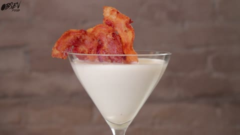 Maple Bacon Martini, Have Your Brunch & Drink It Too