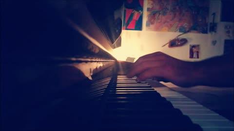 MY FUTURE - Billie Eilish - mini piano-cover