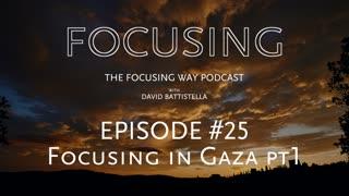 TFW-025: Focusing in the Gaza Strip