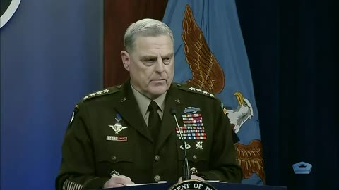 General Milley On Evacuating Americans Out Of Afghanistan