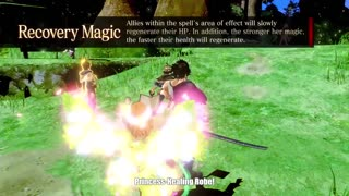 Black Clover Quartet Knights - Mimosa Character Trailer