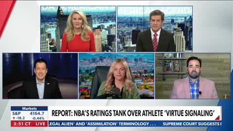 NBA Ratings Sink, Tony Katz Questions Whether Athletes Can Speak Out Against Woke-ism