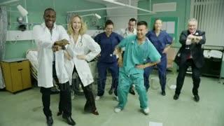 Crazy hospital patients