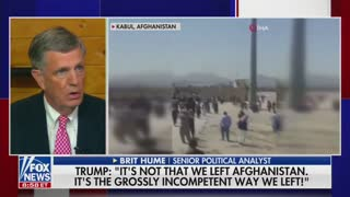 Brit Hume on Afghanistan Withdrawal