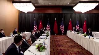 U.S., China clash at first major talks of Biden era