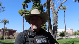Pinal Sheriff Mark Lamb Briefly.