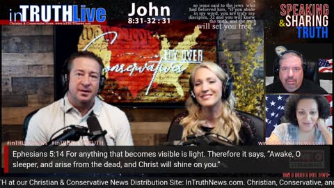 inTruth LIVE: The Great Awakening: Meet David & Stacy Whited; Flyover Conservatives; Tues, June 15th