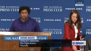 Georgia Democrat Stacey Abrams:'The Electoral College Is Racist'