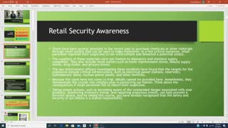 RETAIL SECURITY OFFICER COURSE Part 3