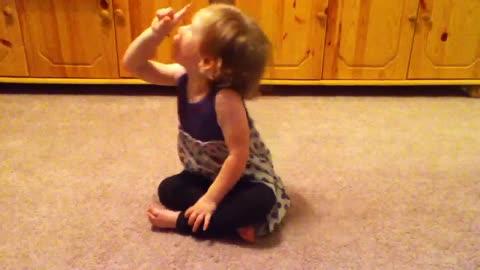 Emma singing a third time