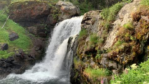 Moose Falls Yellowstone NP
