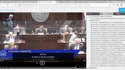 Banana Republic tactics used by Representative Carol Dalby in Arkansas House Judiciary
