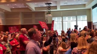 School Board Tries to Stop Debate Over CRT, So Parent Burst Out Singing National Anthem