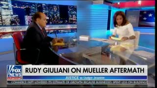 Giuliani and Pirro speak about Mueller's poor mental state