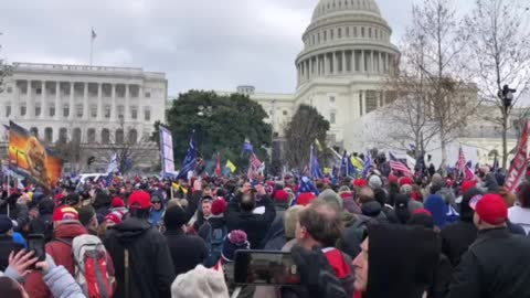 Tear gas used on Trump supporters at DC rally