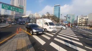 South korea Seoul Street Video