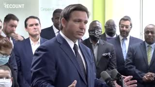 """DeSantis Fights Back: """"These Kids Do Not Need to Be Wearing These Masks"""""""