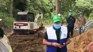 Cierre obras cerros orientales bucaramanga