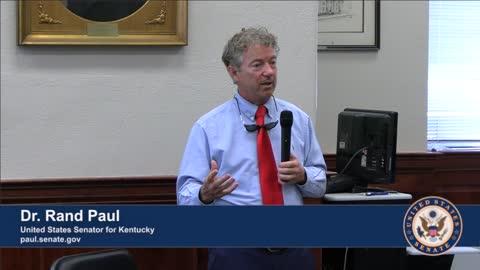 Dr. Rand Paul Visits Clark County, Kentucky