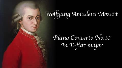 Mozart- Piano Concerto No. 10 in E-flat major