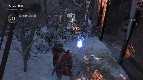 Rise of the Tomb Raider DLC score attack BIG HEAD LARA Soviet Installation gold medal 160921