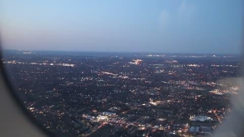 American Airlines Flt 1360 on final approach to St. Louis Lambert International Airport.
